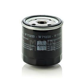 Ölfilter Ø: 76mm, Außendurchmesser 2: 71mm, Innendurchmesser 2: 62mm, Innendurchmesser 2: 62mm, Höhe: 79mm mit OEM-Nummer 035115591