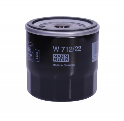 Oil Filter W 712/22 MANN-FILTER W 712/22 original quality
