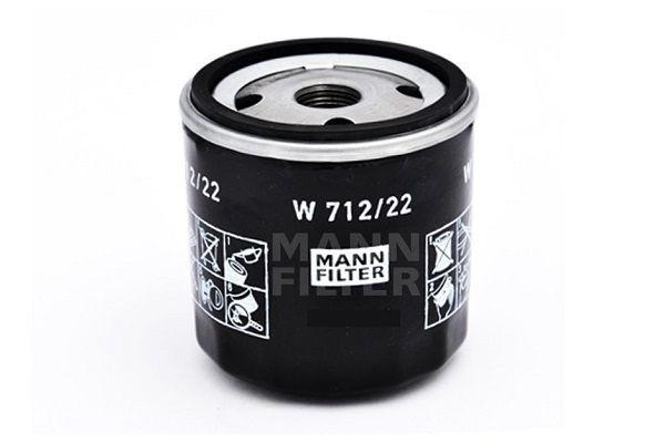 Engine oil filter MANN-FILTER W 712/22 rating