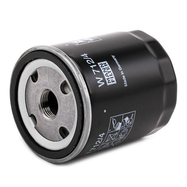 Ölfilter MANN-FILTER W 712/4 4011558701000