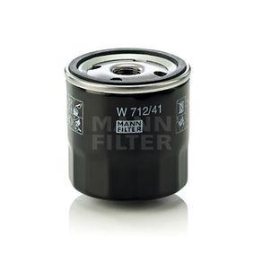 Ölfilter Ø: 76mm, Außendurchmesser 2: 71mm, Innendurchmesser 2: 62mm, Innendurchmesser 2: 62mm, Höhe: 79mm mit OEM-Nummer VOF 28