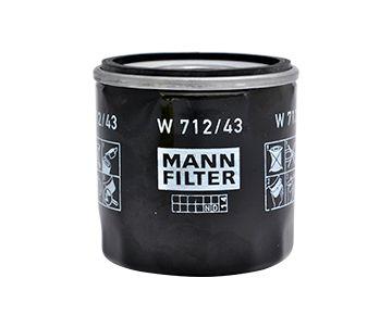 Olajszűrő MANN-FILTER W712/43 szaktudással