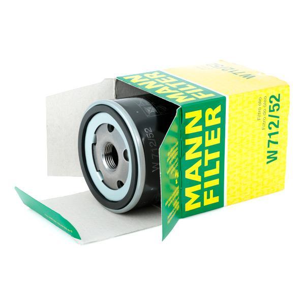 Filtro Olio MANN-FILTER W 712/52 4011558729509