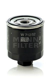 MANN-FILTER W712/52 EAN:4011558729509 webwinkel