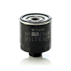 MANN-FILTER W 712/52 EAN:4011558729509 Shop