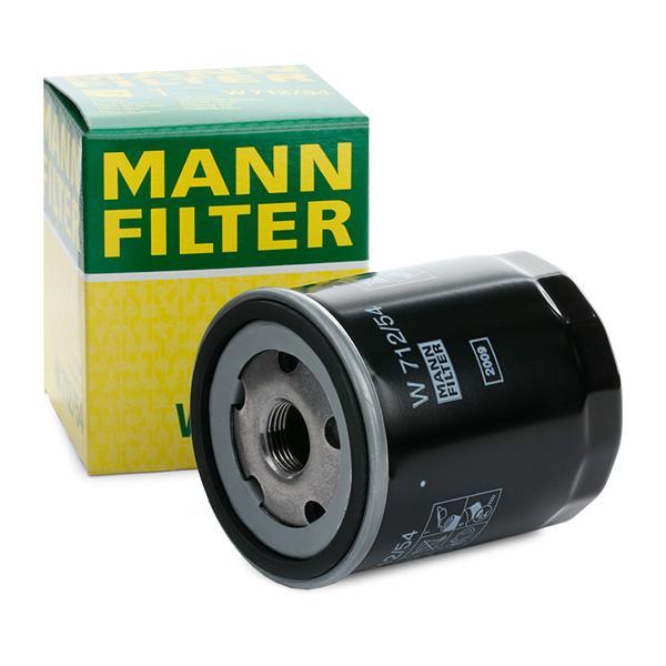 Ölfilter MANN-FILTER W712/54 Erfahrung