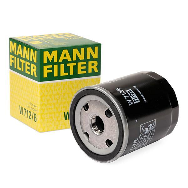 Ölfilter MANN-FILTER W712/6 Erfahrung