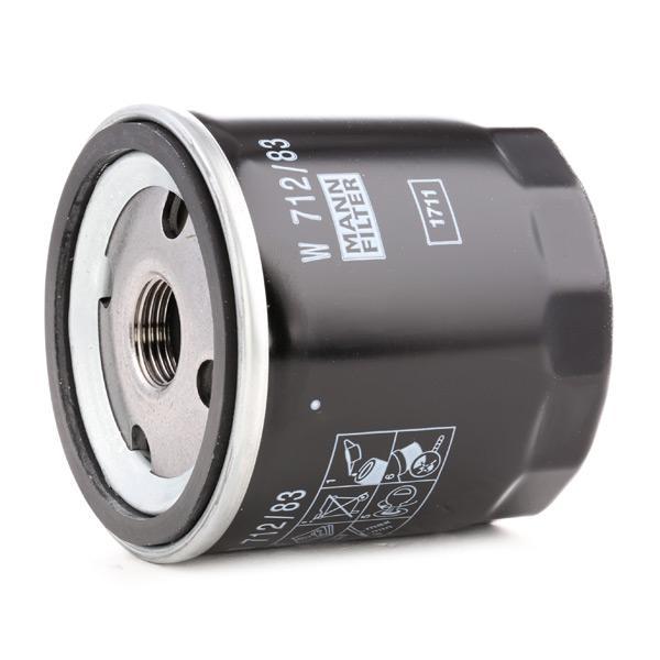 Ölfilter MANN-FILTER W 712/83 4011558000943
