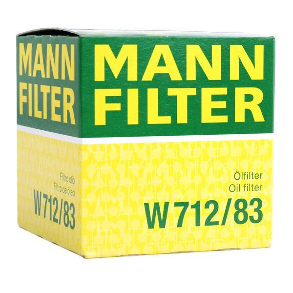 Artikelnummer W 712/83 MANN-FILTER Preise