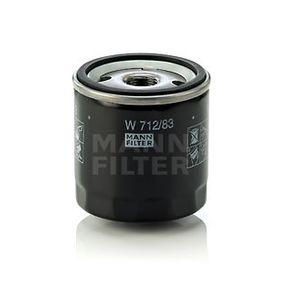 MANN-FILTER W712/83 EAN:4011558000943 Κατάστημα σε απευθείας σύνδεση