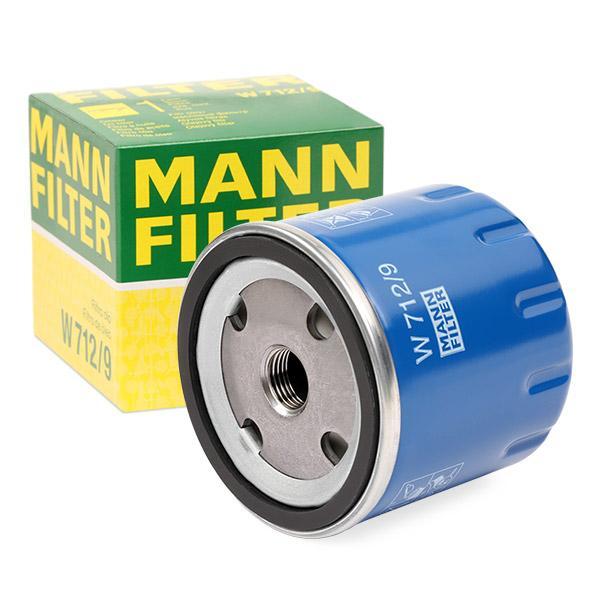 Ölfilter MANN-FILTER W712/9 Erfahrung