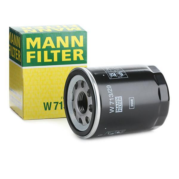 Ölfilter MANN-FILTER W713/29 Erfahrung