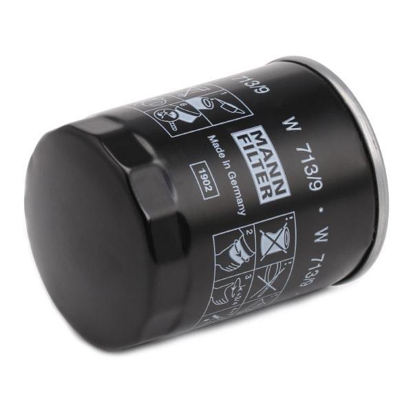 Ölfilter MANN-FILTER W 713/9 4011558731007