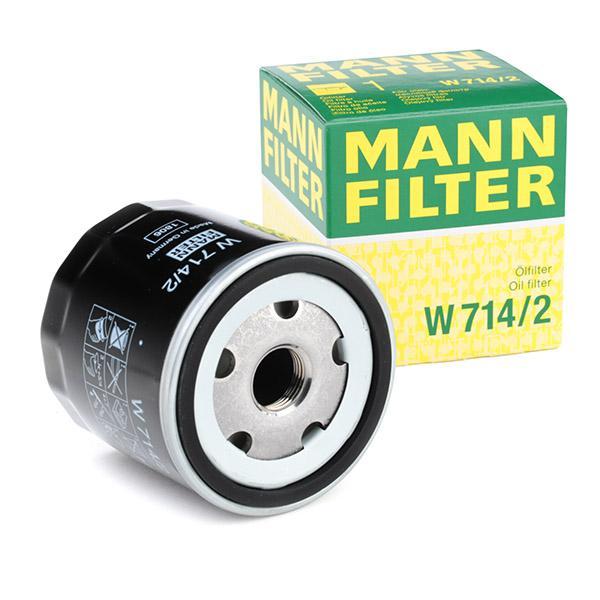 Ölfilter MANN-FILTER W714/2 Erfahrung