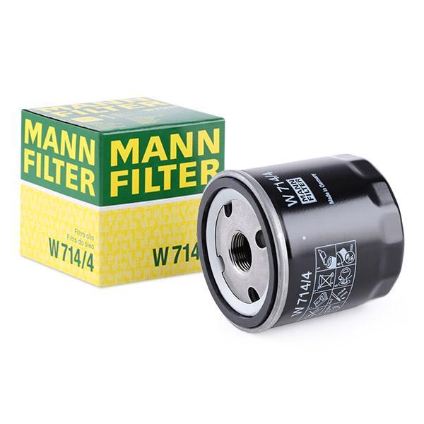 Ölfilter MANN-FILTER W714/4 Erfahrung