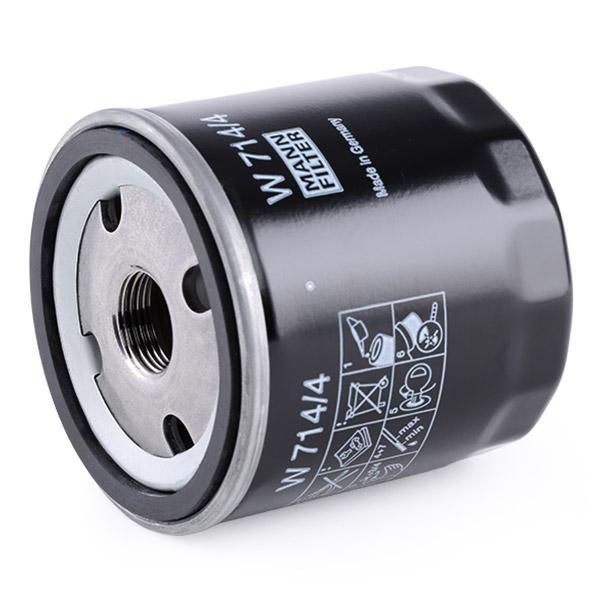 Ölfilter MANN-FILTER W 714/4 4011558736002