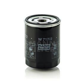 Filtre à huile Ø: 76mm, Diamètre extérieur 2: 71mm, Diamètre intérieur 2: 62mm, Hauteur: 100mm avec OEM numéro 4381608