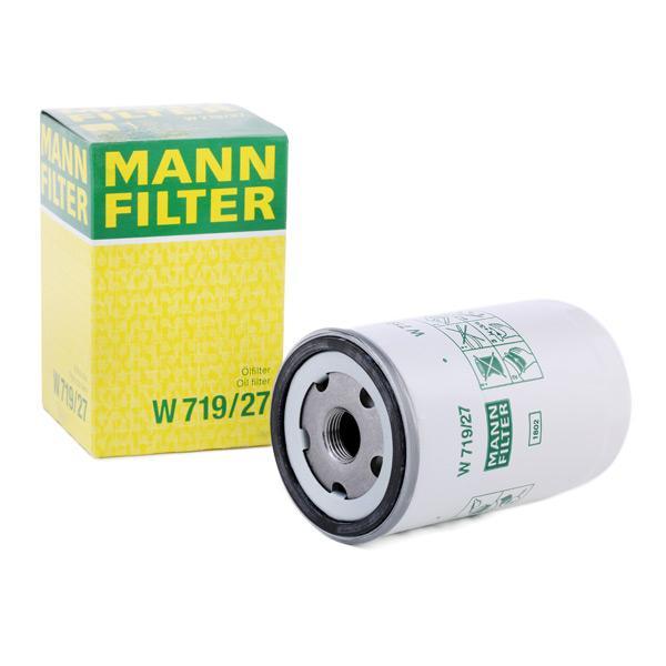 Filtro de Aceite W 719/27 MANN-FILTER W 719/27 en calidad original