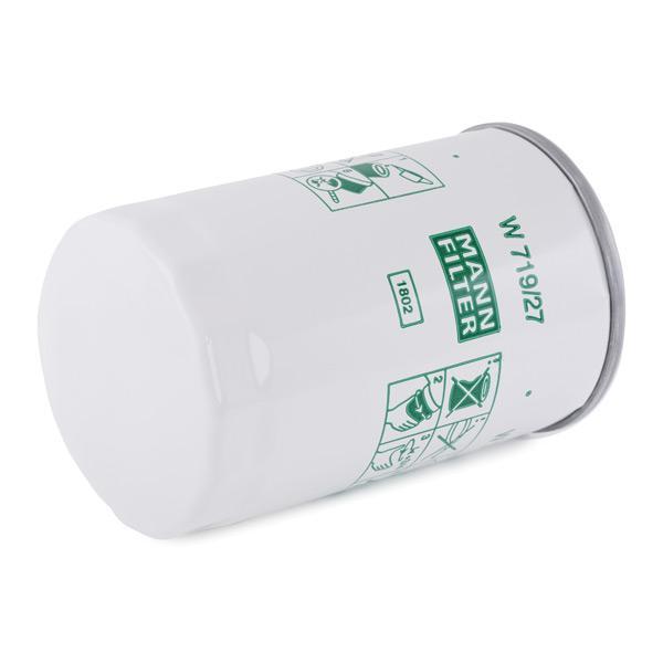 Filtro de Aceite MANN-FILTER W719/27 conocimiento experto