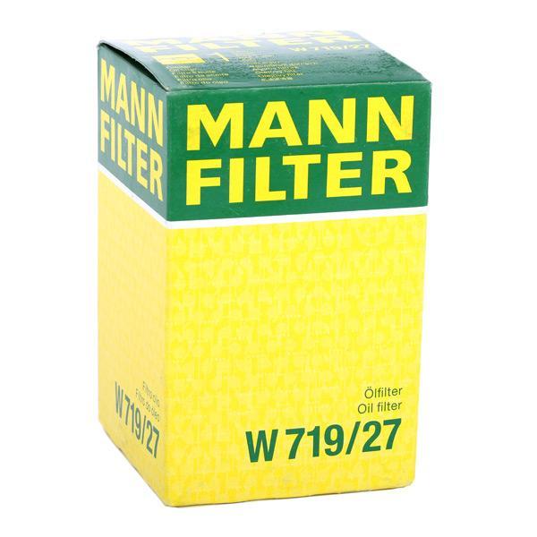 Filtro de Aceite MANN-FILTER W 719/27 4011558725907
