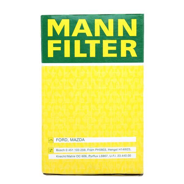 W 719/27 MANN-FILTER del fabricante hasta - 29% de descuento!