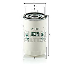 Article № W 719/27 MANN-FILTER prices