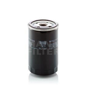 Filtre à huile Ø: 76mm, Diamètre extérieur 2: 71mm, Diamètre intérieur 2: 62mm, Hauteur: 123mm avec OEM numéro A0031840601