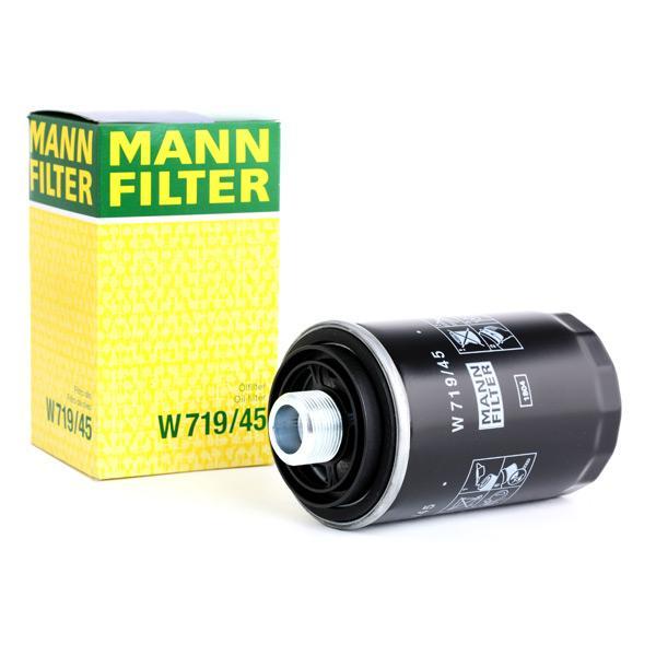 MANN-FILTER Ölfilter CABD  Anschraubfilter  mit zwei Rücklaufsperrventilen  W 719/45
