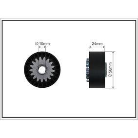 Spannrolle, Keilrippenriemen Breite: 24mm mit OEM-Nummer 8200040155
