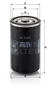 W 719/5 MANN-FILTER mit 20% Rabatt!