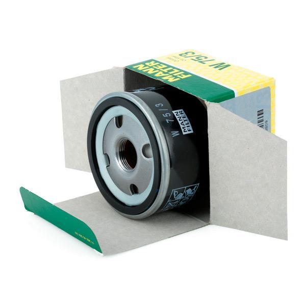 Filter MANN-FILTER W 75/3 4011558728809