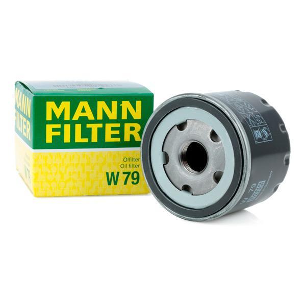 Filtro de aceite de motor MANN-FILTER W79 conocimiento experto