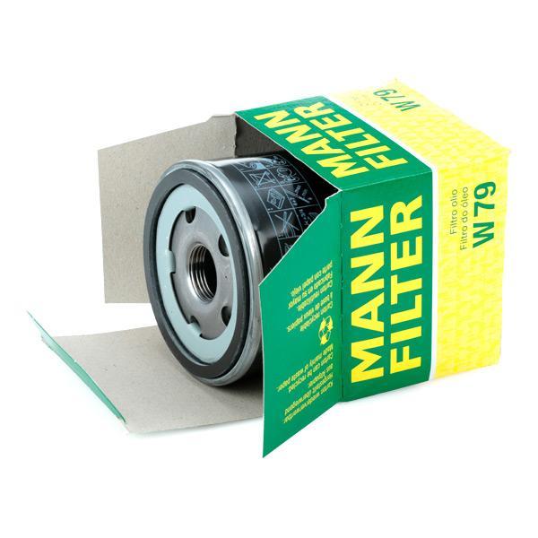 Filtro de aceite de motor MANN-FILTER W 79 4011558748203