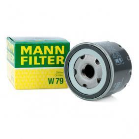 MANN-FILTER W79 asiantuntemusta