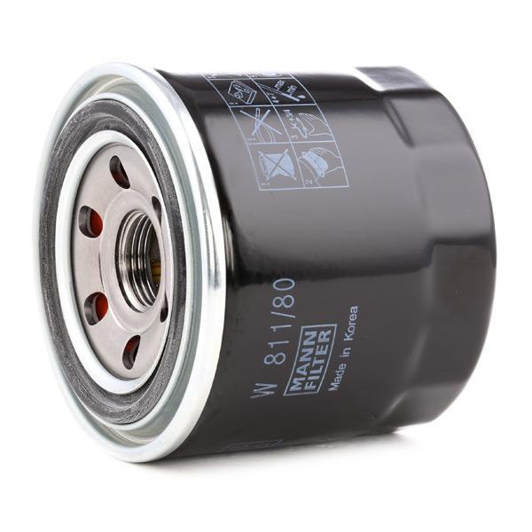 Olejový filtr MANN-FILTER W 811/80 Hodnocení
