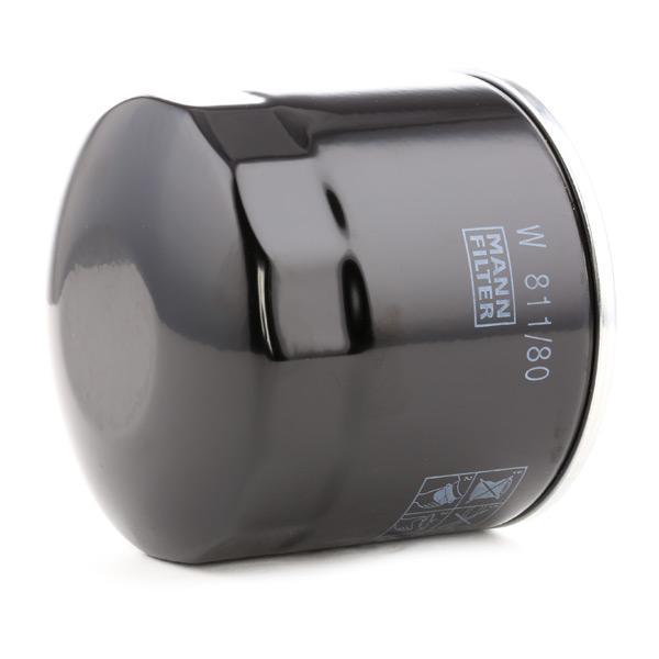 Olejový filtr MANN-FILTER W811/80 odborné znalosti