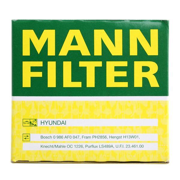 W 811/80 MANN-FILTER a gyártótól akár - 28% kedvezmény!