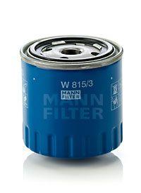 MANN-FILTER  W 815/3 Ölfilter Ø: 86mm, Außendurchmesser 2: 72mm, Innendurchmesser 2: 63mm, Innendurchmesser 2: 63mm, Höhe: 88mm