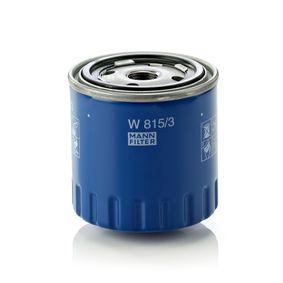 Ölfilter Ø: 86mm, Außendurchmesser 2: 72mm, Innendurchmesser 2: 63mm, Höhe: 88mm mit OEM-Nummer 1109 76