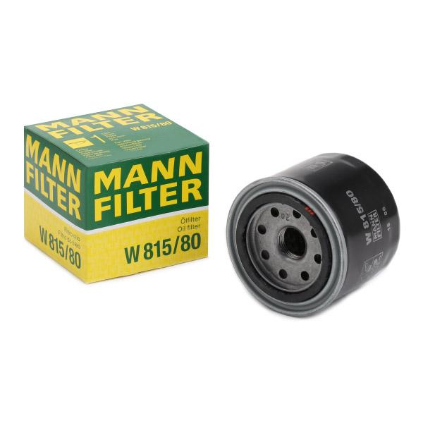 Oil Filter MANN-FILTER W815/80 expert knowledge