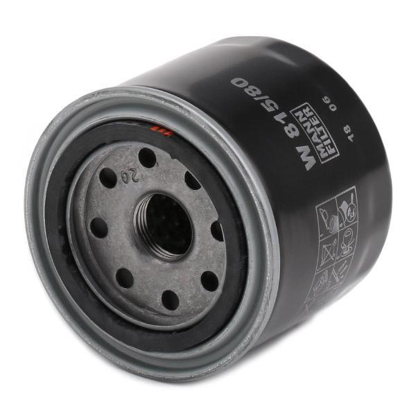 Filtro de aceite de motor MANN-FILTER W 815/80 4011558706807