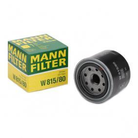 MANN-FILTER W815/80 conocimiento experto