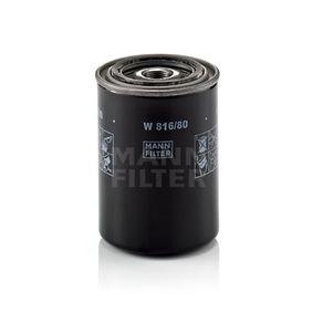 Ölfilter Ø: 85mm, Außendurchmesser 2: 65mm, Innendurchmesser 2: 57mm, Innendurchmesser 2: 57mm, Höhe: 120mm mit OEM-Nummer 15601-87310