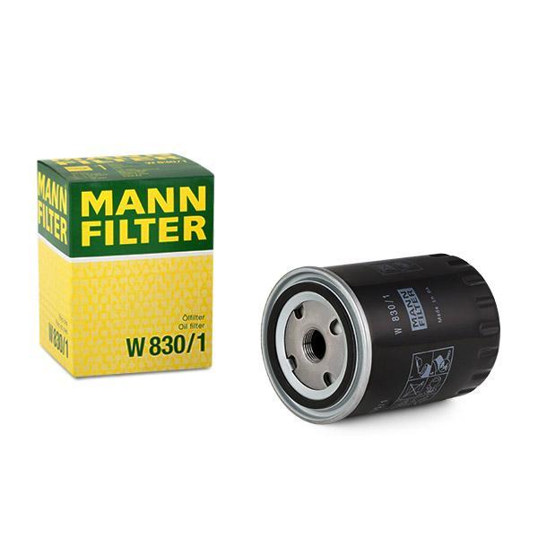 Ölfilter MANN-FILTER W830/1 Erfahrung