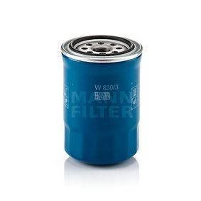 Filtro de aceite W 830/3 MATRIX (FC) 1.5 CRDi ac 2002