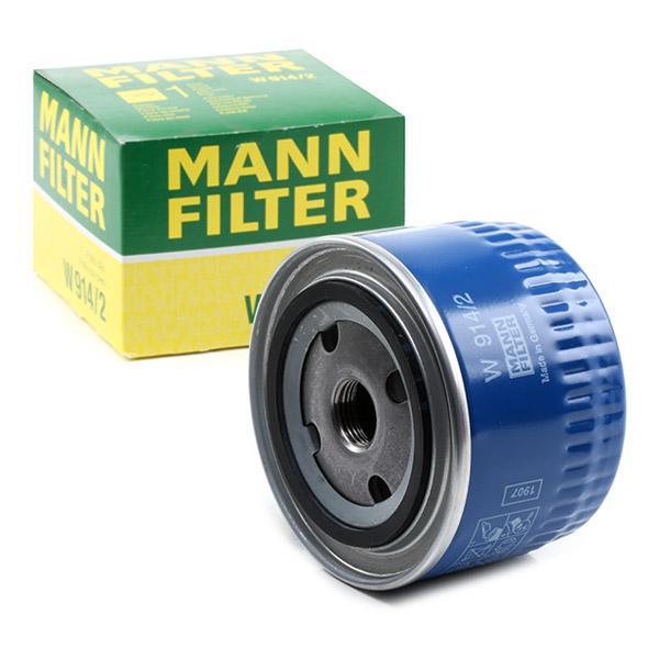 Ölfilter MANN-FILTER W914/2 Erfahrung