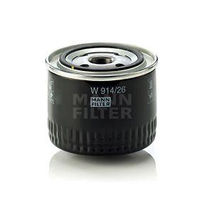 Маслен филтър W 914/26 25 Хечбек (RF) 2.0 iDT Г.П. 2000
