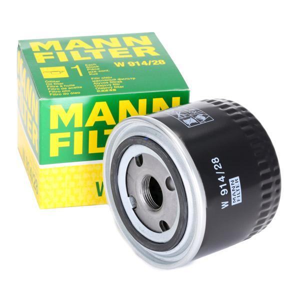 Ölfilter MANN-FILTER W 914/28 4011558757908