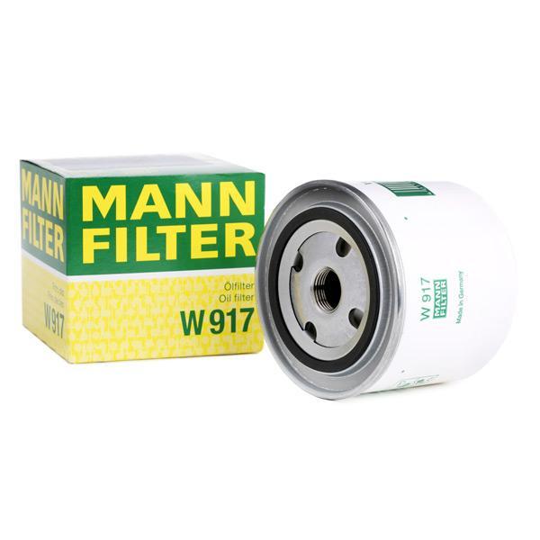 Ölfilter MANN-FILTER W917 Erfahrung