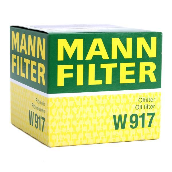Artikelnummer W 917 MANN-FILTER Preise